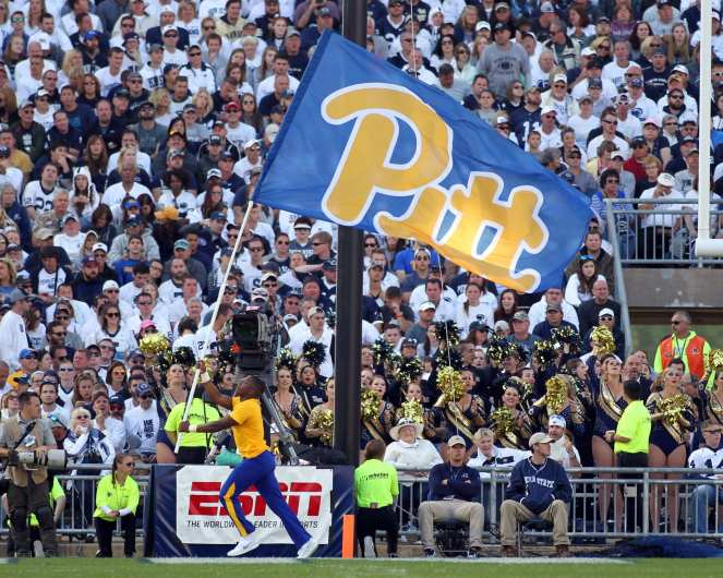 Stock Shot Pitt flag September 9, 2017 -- David Hague