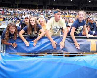 Pitt Student Section September 2, 2017 -- David Hague
