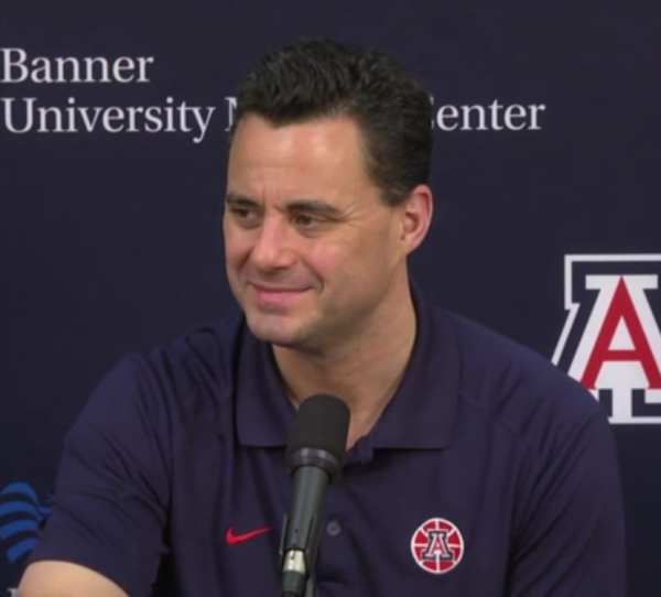 Sean Miller at University of Arizona Press Conference at McKale Center. By Lance Linn | CC BY-SA 4.0