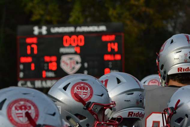 St. John's players after the win. -- ALAN SAUNDERS