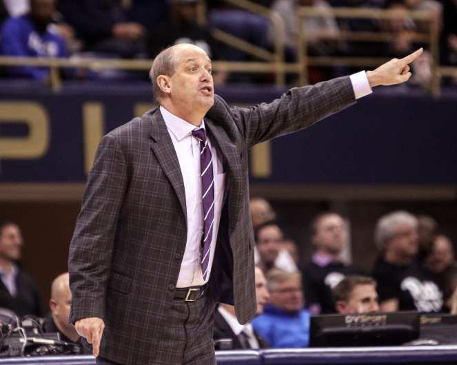 Kevin Stallings against Duke on January 10, 2018 -- DAVID HAGUE
