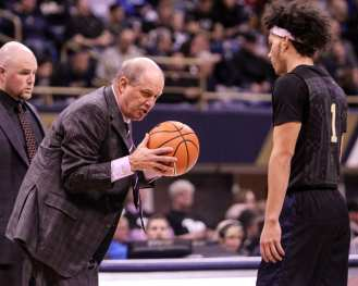 Kevin Stallings on January 10, 2018 -- DAVID HAGUE
