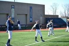 Pitt Baseball Warmups