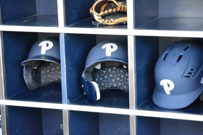 Pitt Baseball Helmets