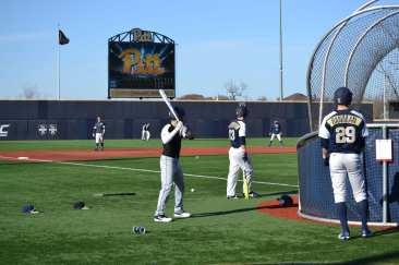 Pitt Baseball Batting Practice