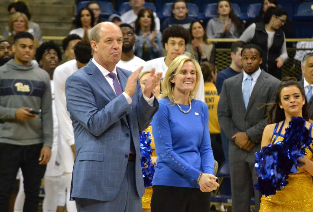Heather Lyke and Kevin Stallings