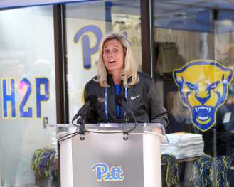 Heather Lyke April 7, 2019 -- David Hague/PSN