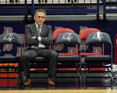 Coach Keith Dambrot November 12, 2018 -- David Hague/PSN