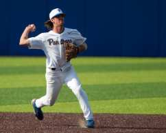 Brock Franks (11) Pitt Baseball April 6, 2021 Photo by David Hague/PSN