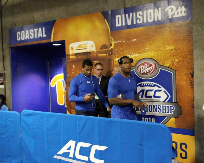 Pitt Football gets ready for the ACC Championship Game December 1, 2018 -- David Hague/PSN