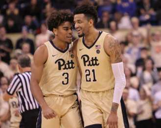 Malik Ellison (3) and Terrell Brown (21) January 9, 2019 -- David Hague/PSN