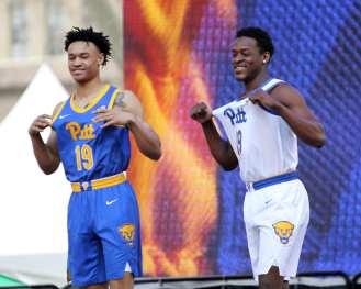 Pitt Mens Basketball April 7, 2019 -- David Hague/PSN