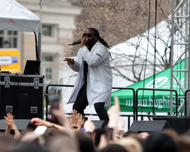 T-Pain April 7, 2019 -- David Hague/PSN
