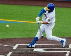 David Yanni (24) Pitt Baseball March 26, 2021 - Photo by David Hague/PSN