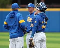 Stephen Hansen (31) Pitt Baseball March 28, 2021 - Photo by David Hague/PSN