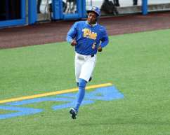 Jordan Anderson (5) Pitt Baseball March 28, 2021 - Photo by David Hague/PSN