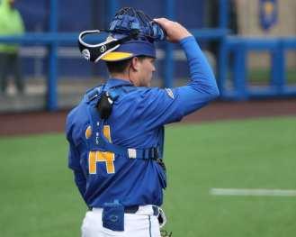 Jackson Phinney (14) Pitt Baseball March 28, 2021 - Photo by David Hague/PSN