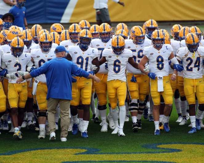 Pitt takes the field September 12, 2020 David Hague/PSN