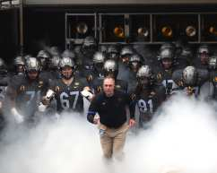 Pitt takes the field for game against Notre Dame October 24, 2020 David Hague/PSN