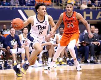Trey McGowens (2) February 16, 2019 -- David Hague/PSN