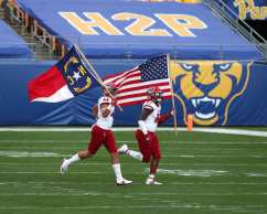 NC State takes the field October 3, 2020 David Hague/PSN