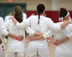 Duquesne women's team March 3, 2020 - David Hague/PSN