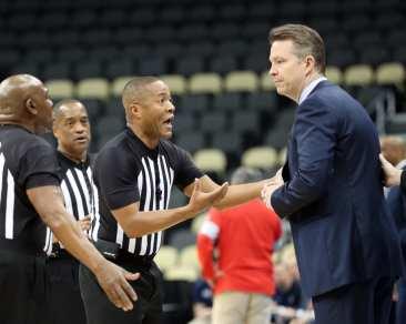 Richmond Coach Chris Mooney March 6, 2020 - David Hague/PSN
