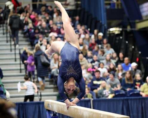 WVU Gymnastics January 12, 2019 -- David Hague/PSN