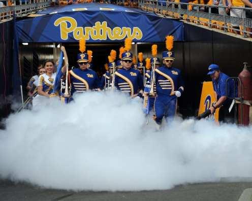 Pitt Band -- August 31, 2019 Photo By David Hague/PSN