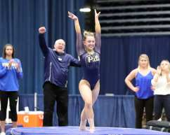 Sophie Bochenek Pitt Gymnastics January 12, 2019 -- David Hague/PSN