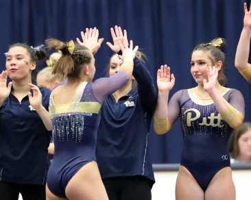 Pitt Gymnastics January 12, 2019 -- David Hague/PSN