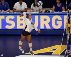 Allyson Cathey (22) for Penn State Volleyball September 22, 2019 -- David Hague/PSN