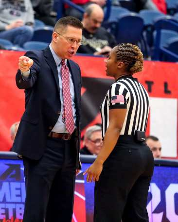 Head Coach Dan Burt March 5, 2019 -- David Hague/ PSN