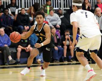 Jaden Nelson (7) in the PBC Roundball Classic April 28, 2019 -- David Hague/PSN