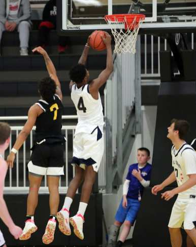 Dwayn Jones (4) in the PBC Roundball Classic April 28, 2019 -- David Hague/PSN