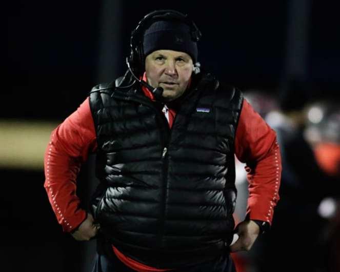 West Allegheny head coach Bob Palko, November 23, 2018 — BEN BAMFORD