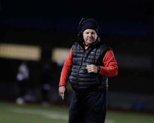 West Allegheny head coach Bob Palko November 23, 2018 — BEN BAMFORD