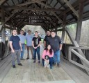 River Road Covered Bridge Re-planked