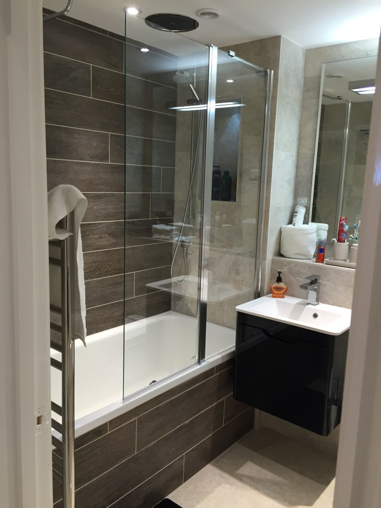 Wood Tiles in Bathrooms