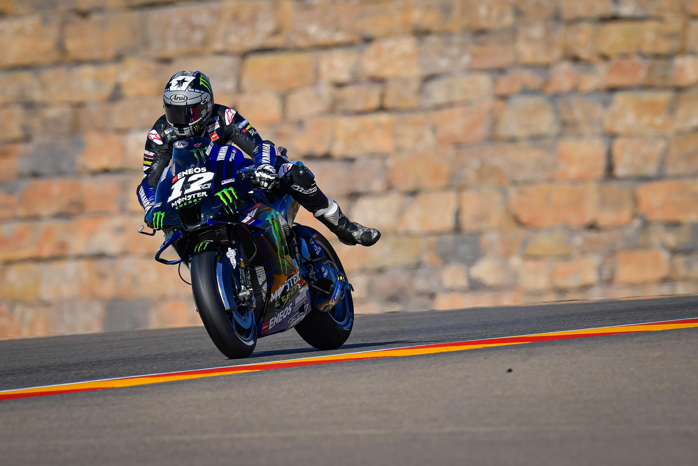 Maverick Viñales, Monster Energy Yamaha MotoGP, Motorland Aragon 2020
