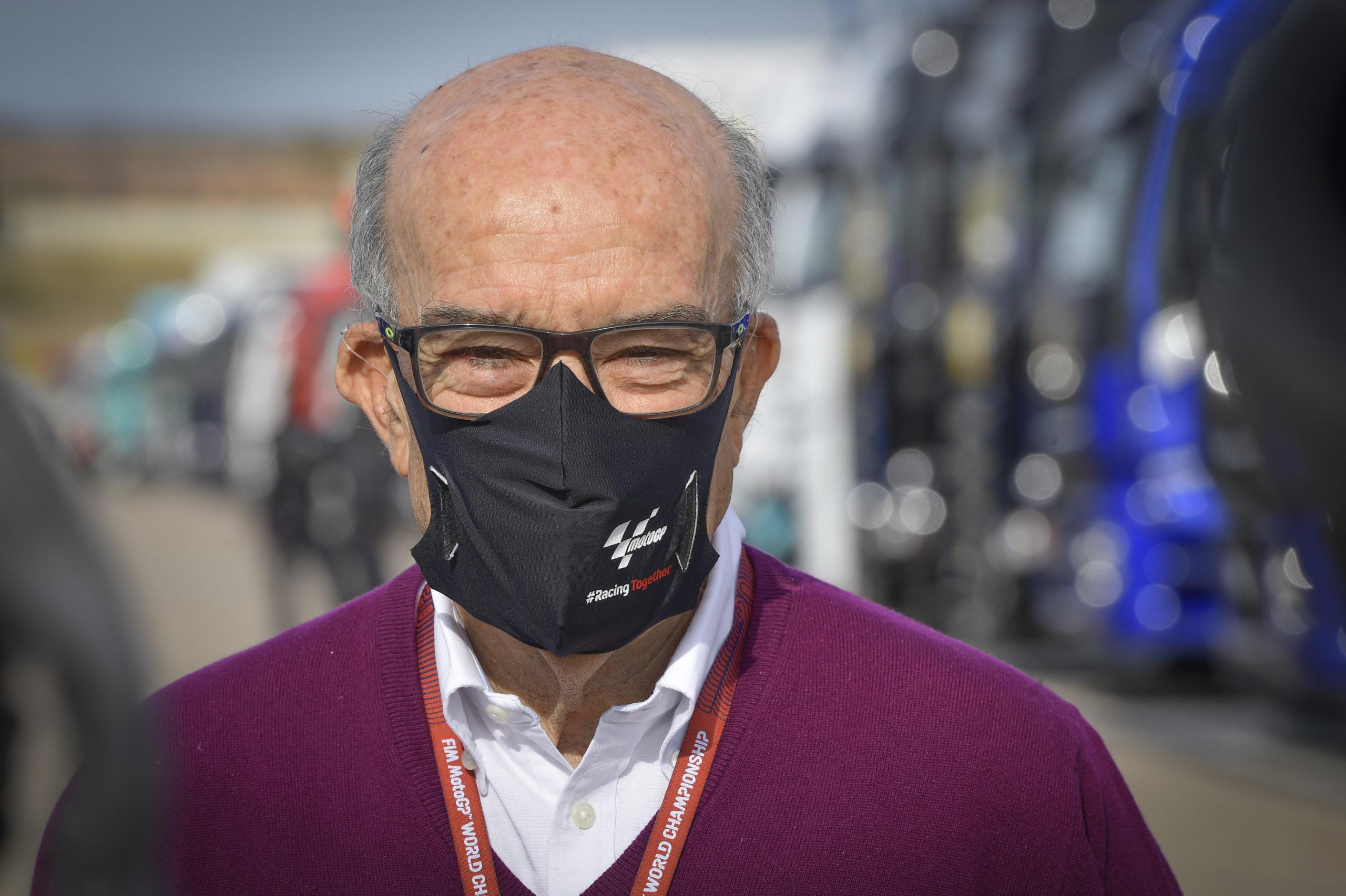 Carmelo Ezpeleta, Dorna, MotoGP 2020