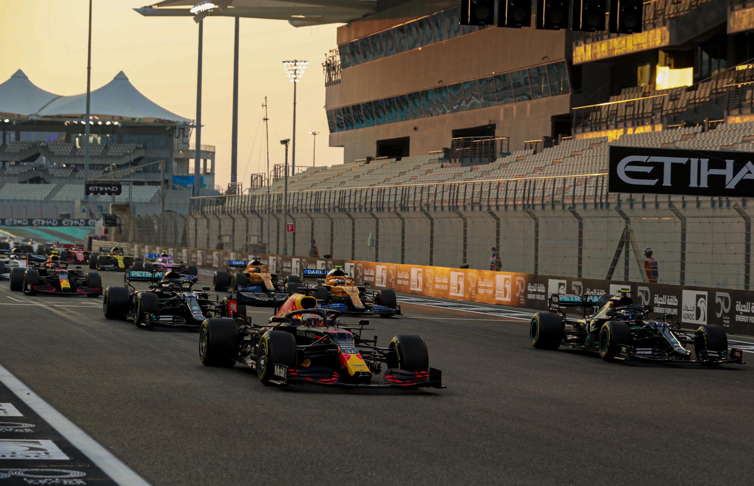 2020 Abu Dhabi Grand Prix, Sunday - LAT Images