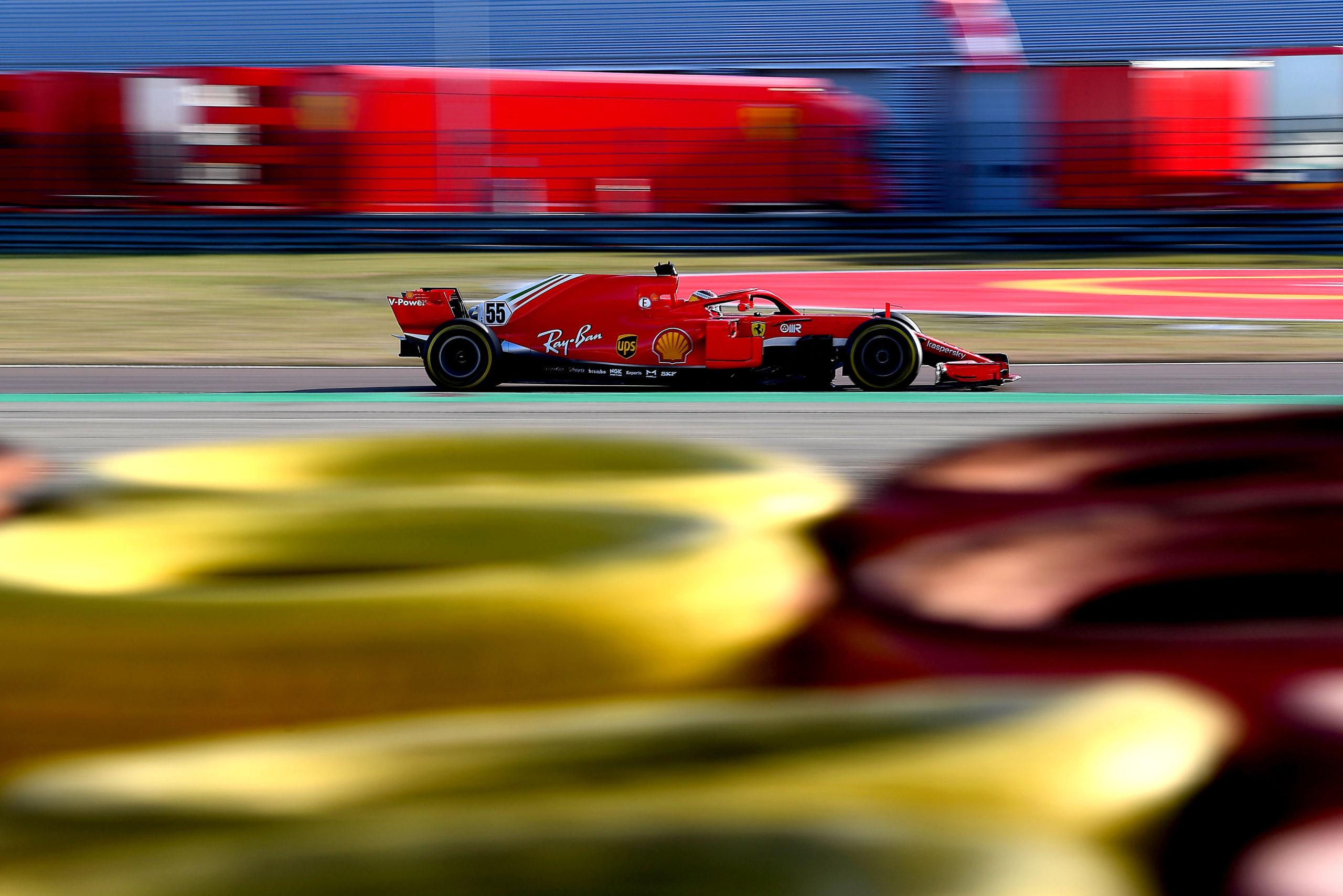 FERRARI F1 TEST FIORANO - GIOVEDI 28/01/2021 Carlos Sainz credit: @Scuderia Ferrari Press Office