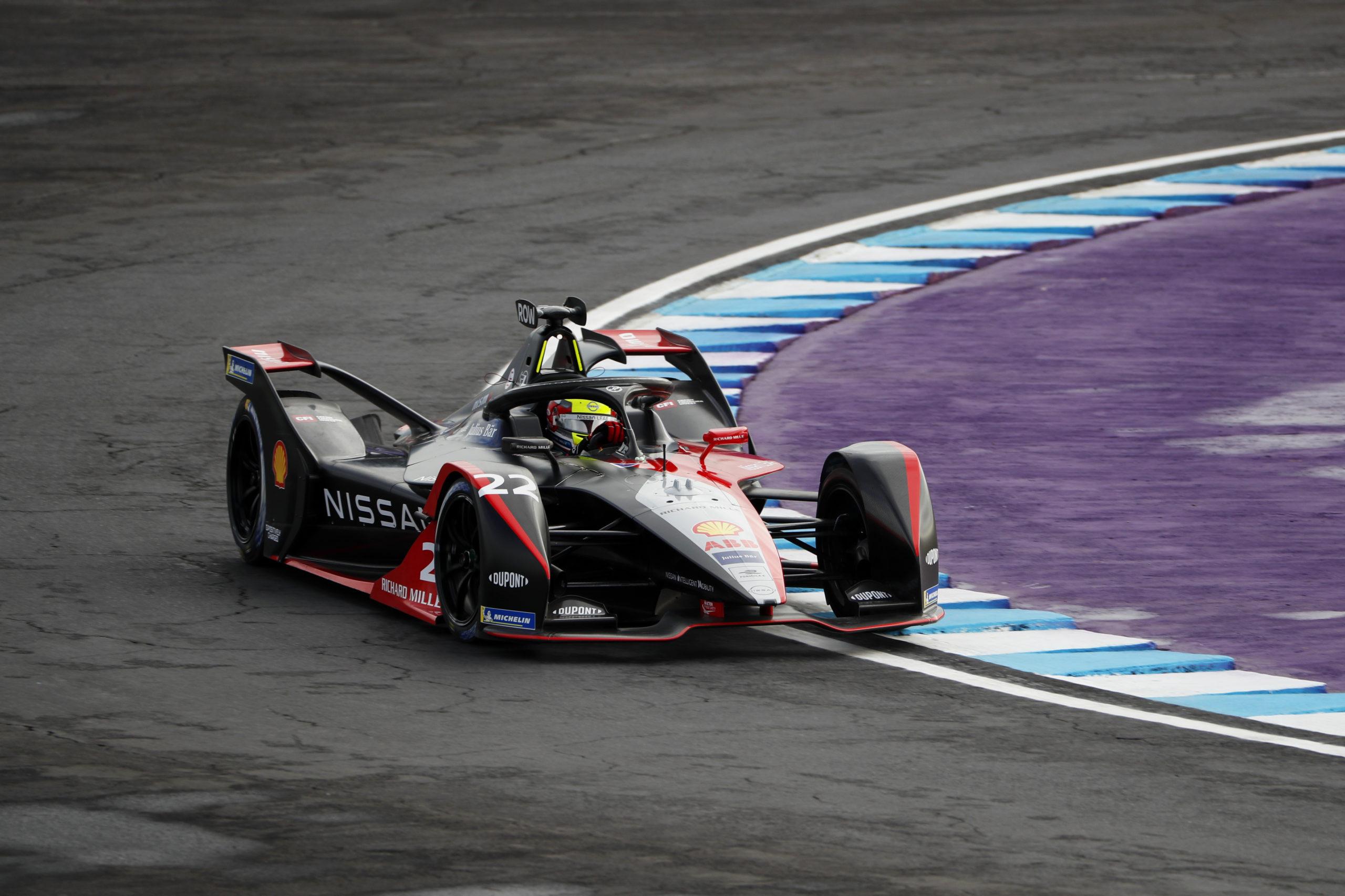 Oliver Rowland (GBR), Nissan e.Dams, Nissan IMO2, ePrix Puebla 2021, Formula-E