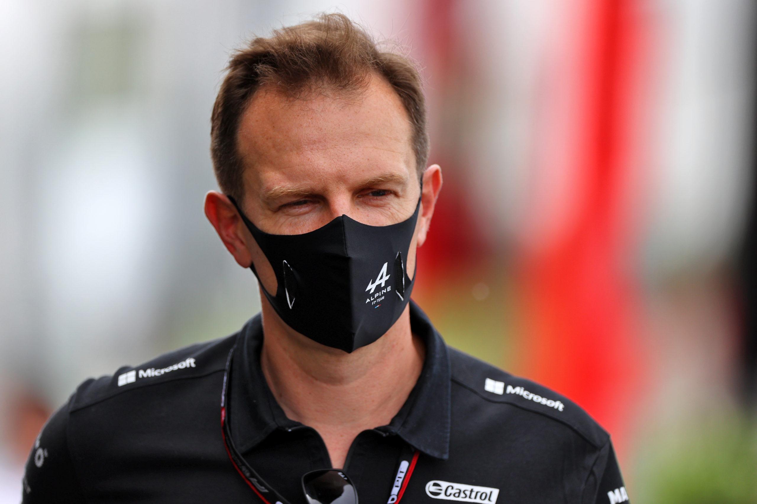 Laurent Rossi (FRA) Alpine F1 Team A521. French Grand Prix, Saturday 19th June 2021. Paul Ricard
