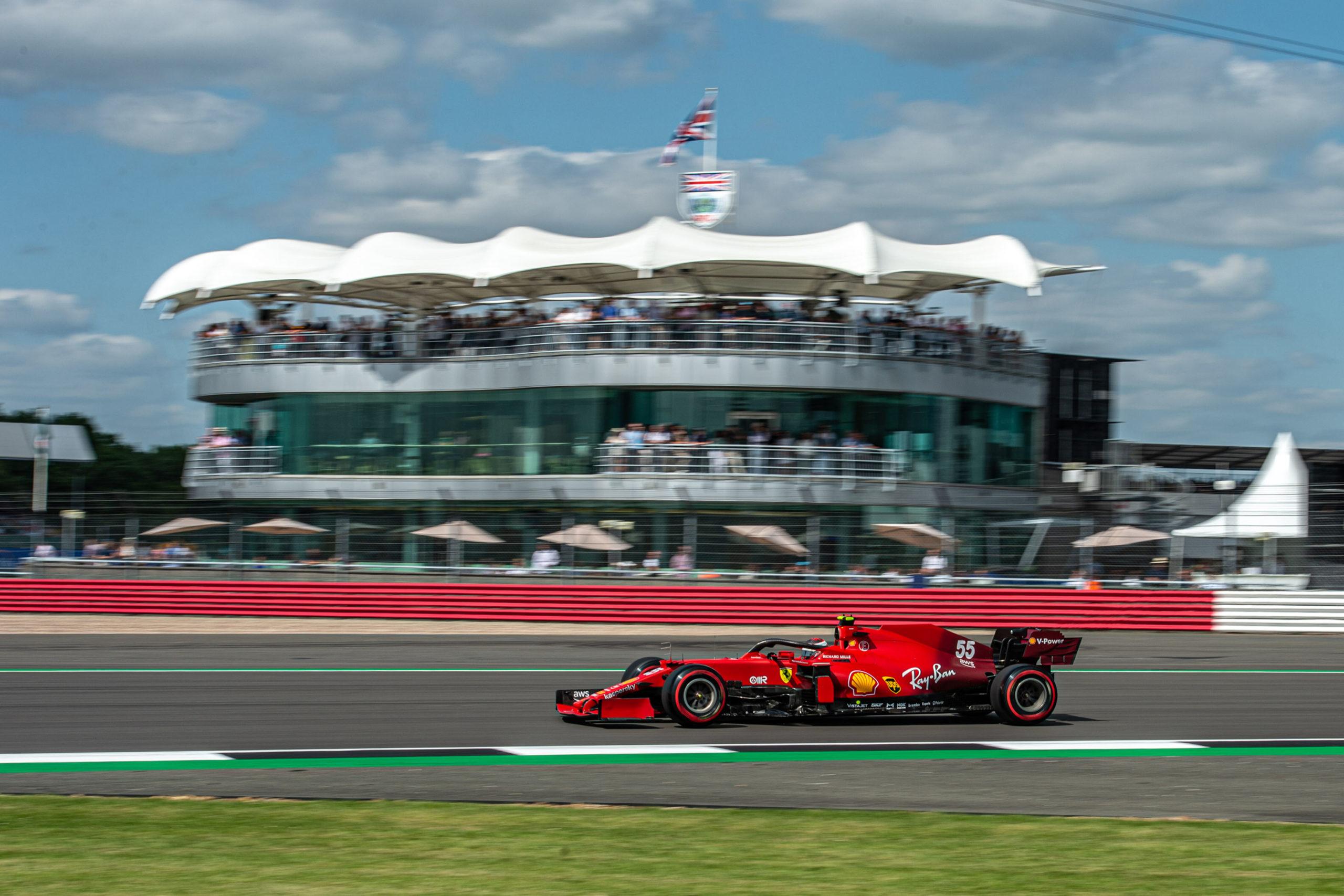 Carlos Sainz, Ferrari, GP GRAN BRETAGNA F1/2021 - VENERDÌ 16/07/2021   credit: @Scuderia Ferrari Press Office