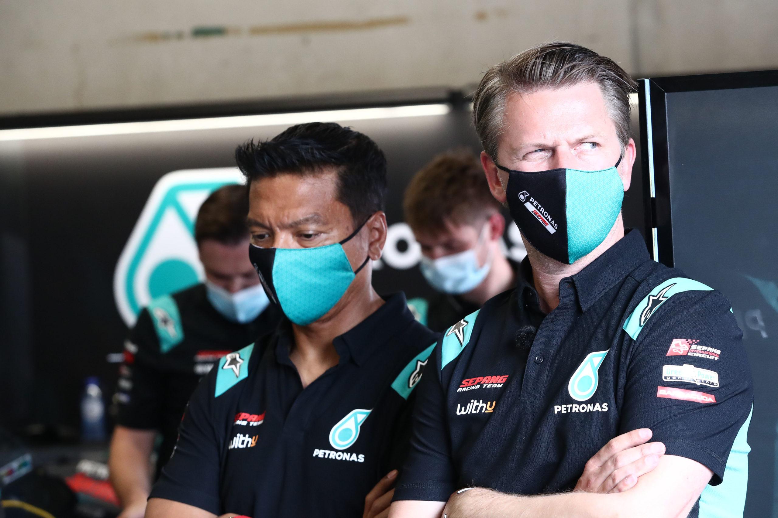 Razlan Rizali, Johan Stigefelt Dutch MotoGP, 26 June 2021