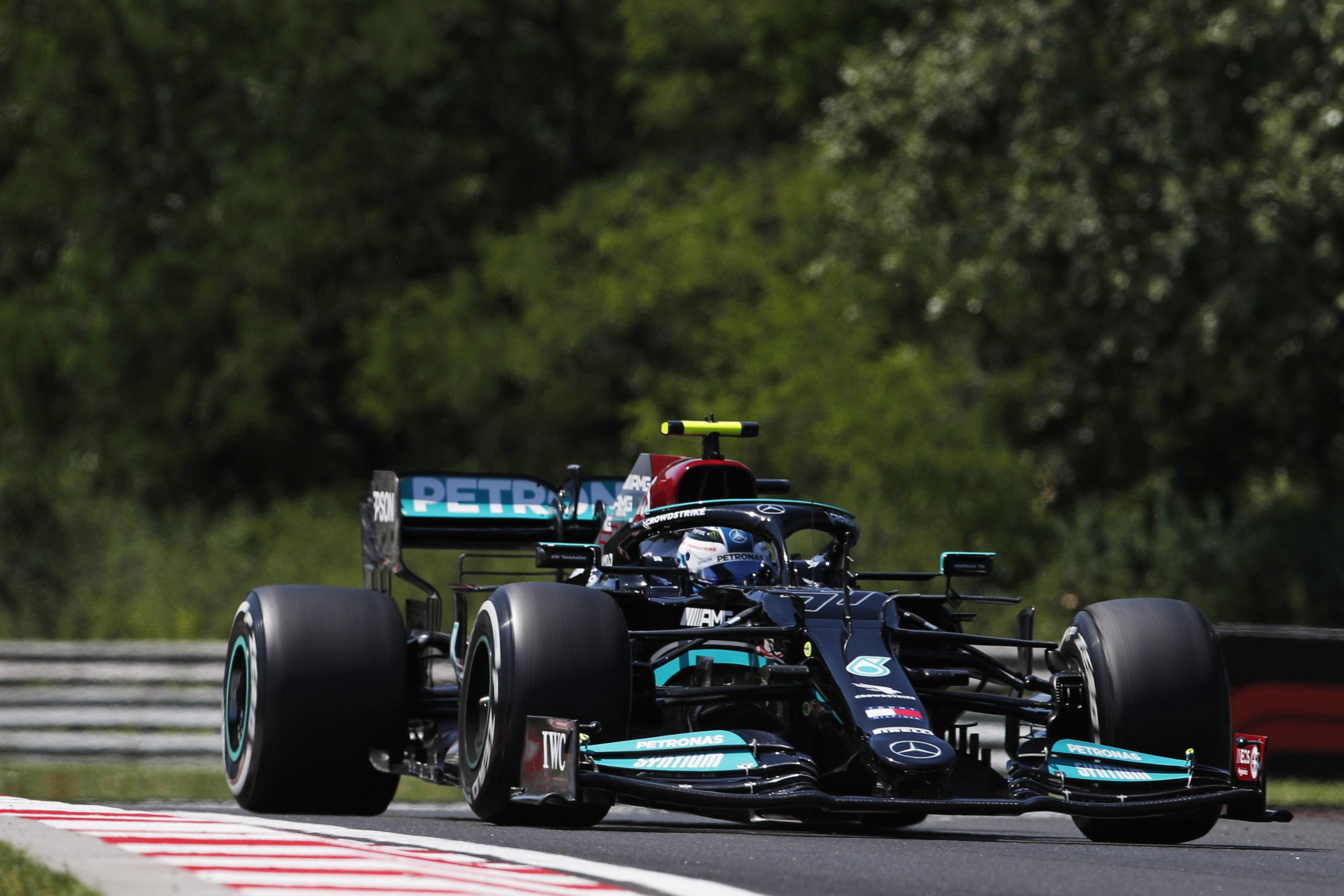 Valtteri Bottas, Mercedes 2021 Hungarian Grand Prix, Friday - LAT Images