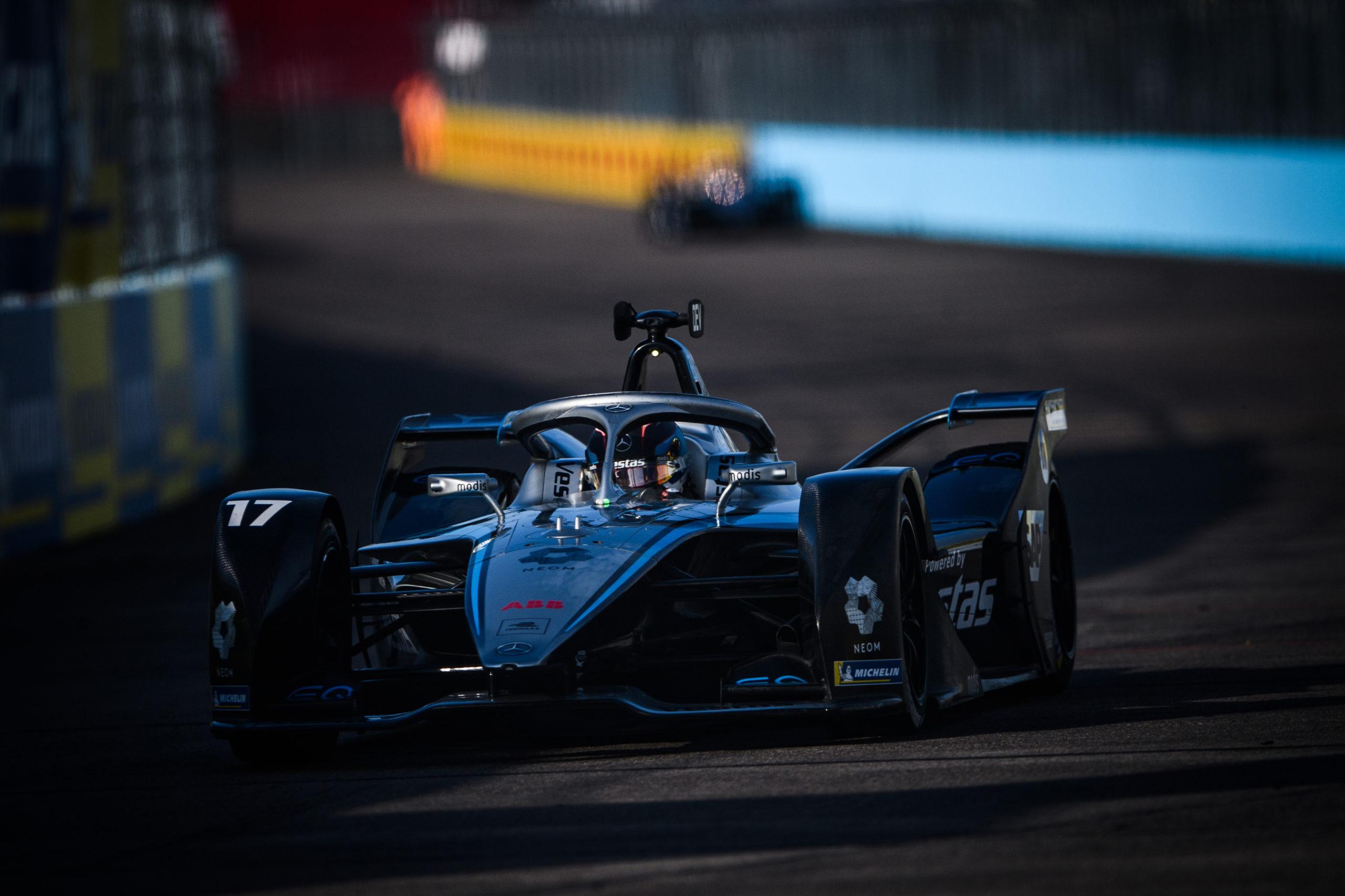 Formel E – Mercedes-Benz EQ Formel E Team, Berlin E-Prix 2021. Nyck de Vries   Formula E - Mercedes-Benz EQ Formula E Team, Berlin E-Prix 2021. Nyck de Vries