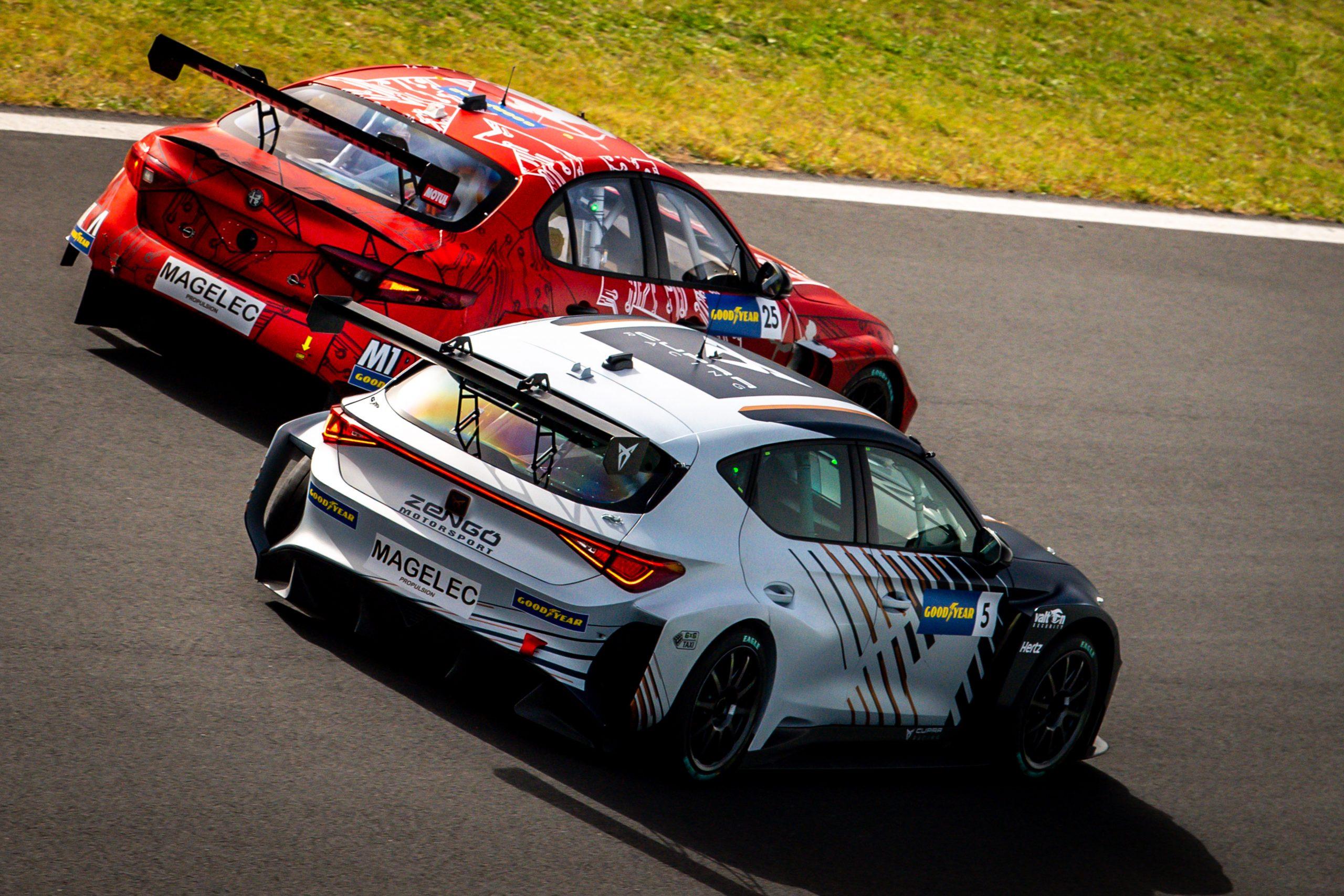 Cupra, Hyundai y Romeo Ferraris equipan el mismo tren de propulsión eléctrico.